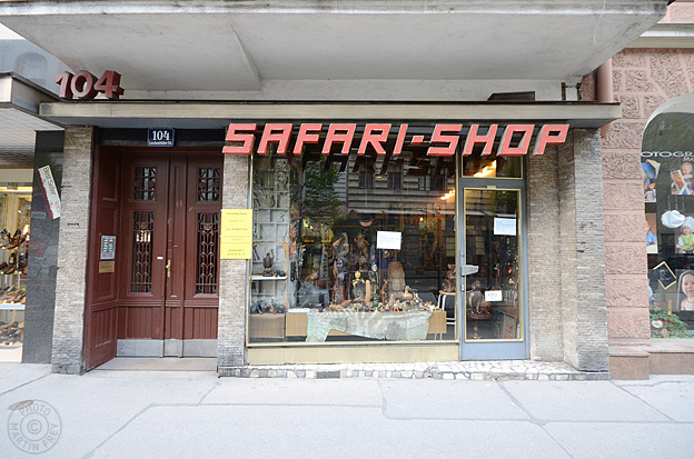 Safari Shop: 1080 Wien, Lerchenfelder Strasse 104