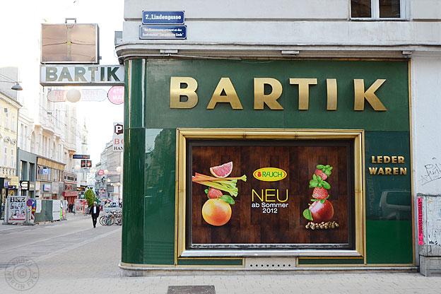 Heinrich Bartik Lederwaren: 1070 Wien, Neubaugasse 13