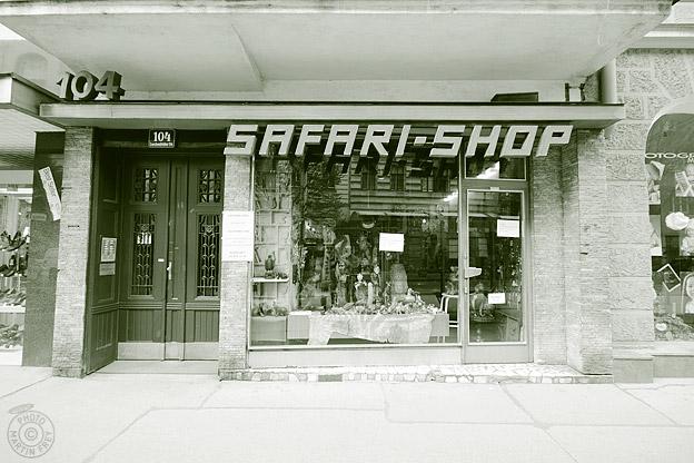 Safari Shop: 1080 Wien, Lerchenfelder Strasse 104