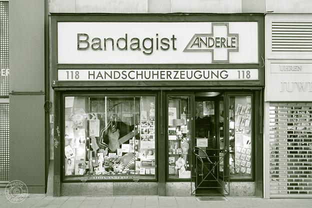 Bandagist Anderle: 1070 Wien, Mariahilferstraße 118