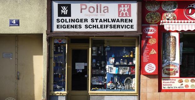 Polla Alois – Solinger Stahlwaren: 1140 Wien, Linzerstraße 4