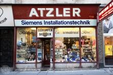 Franz Atzler - Elektroinstallationen und Handel. 1070 Wien, Kirchengasse 3