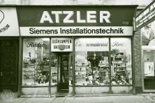Franz Atzler, Elektroinstallationen und Handel: 1070 Wien, Kirchengasse 3