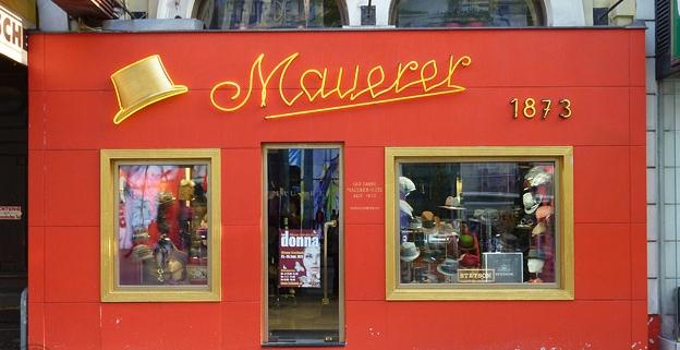 Mauerer Hüte: 1060 Wien, Mariahilfer Strasse 117