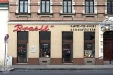 """Brasil"" Kaffee-Tee-Import, Großrösterei: 1030 Wien, Rennweg 75"