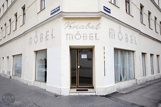 Knabel Moebel: 1090 Wien, Stroheckgasse / Roegergasse