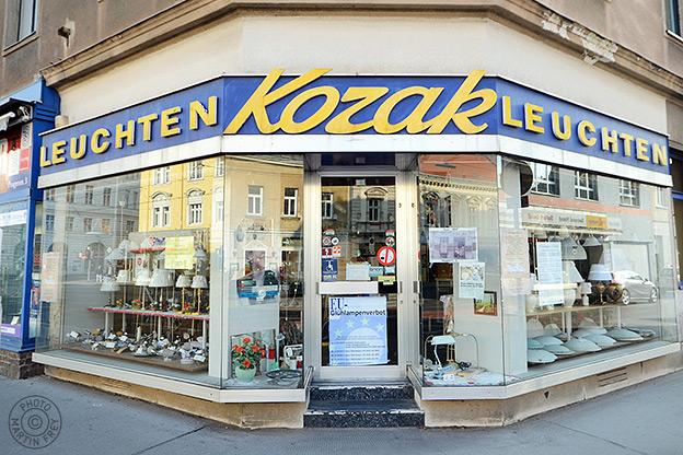 Kozak Leuchten: 1210 Wien