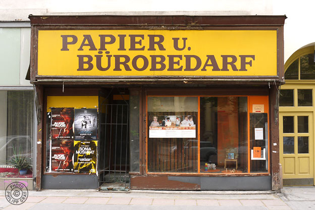 Papier u. Bürobedarf: 1020 Wien, Praterstraße 14