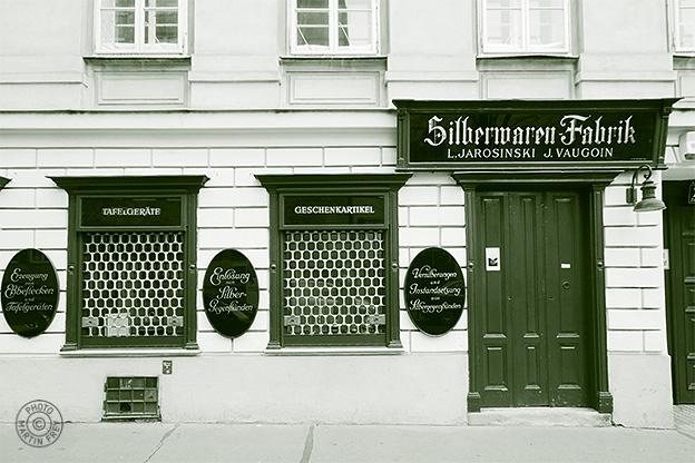 Silberwarenfabrik Jarosinski & Vaugoin: 1070 Wien, Zieglergasse 24
