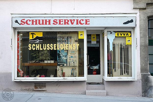 Schuhservice Schlüsseldienst, 1040 Wien