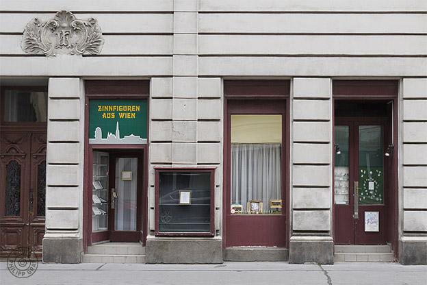 Zinnfiguren aus Wien - Brigitte Kovar: 1090 Wien